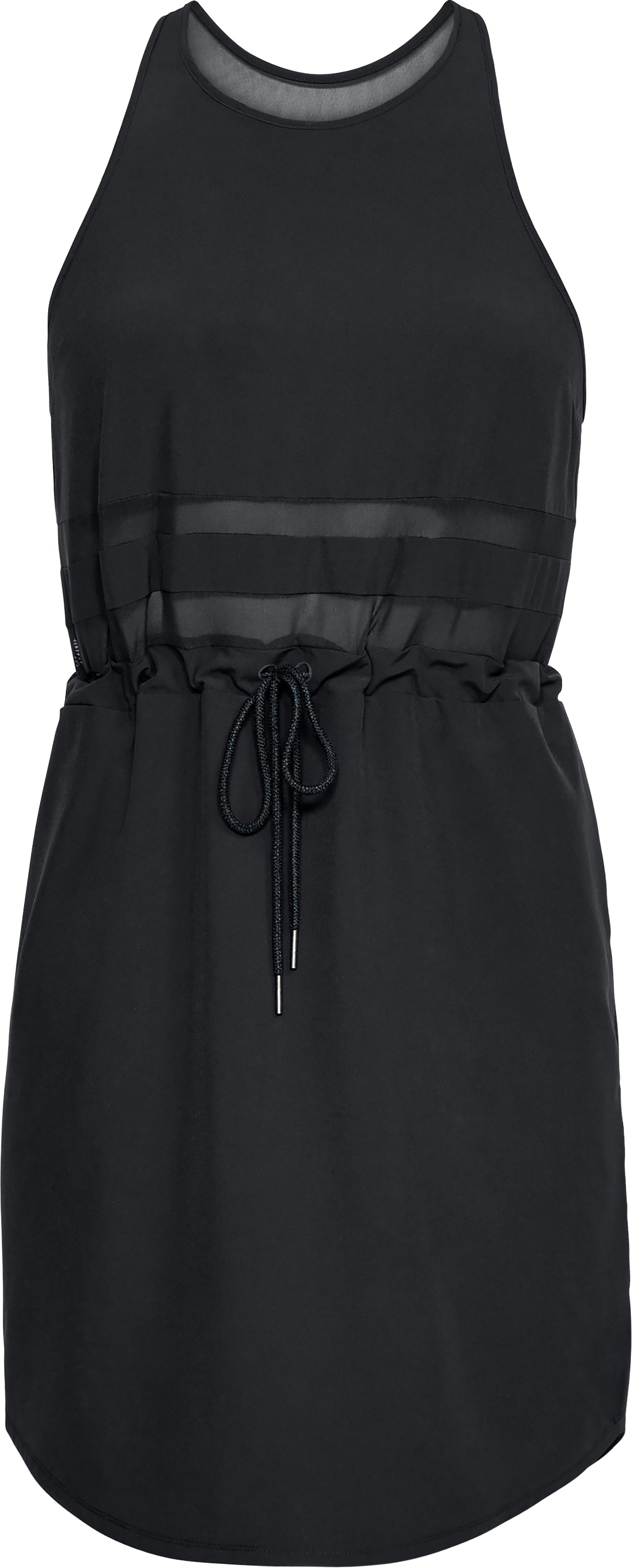 Women's UA ODL Racer Back Woven Dress, Black ,