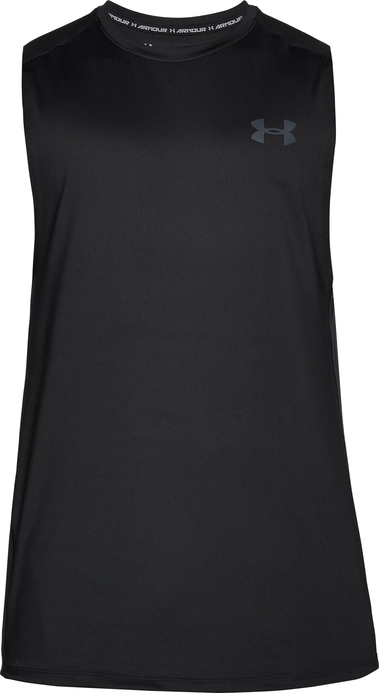 Men's UA MK-1 Sleeveless, Black ,