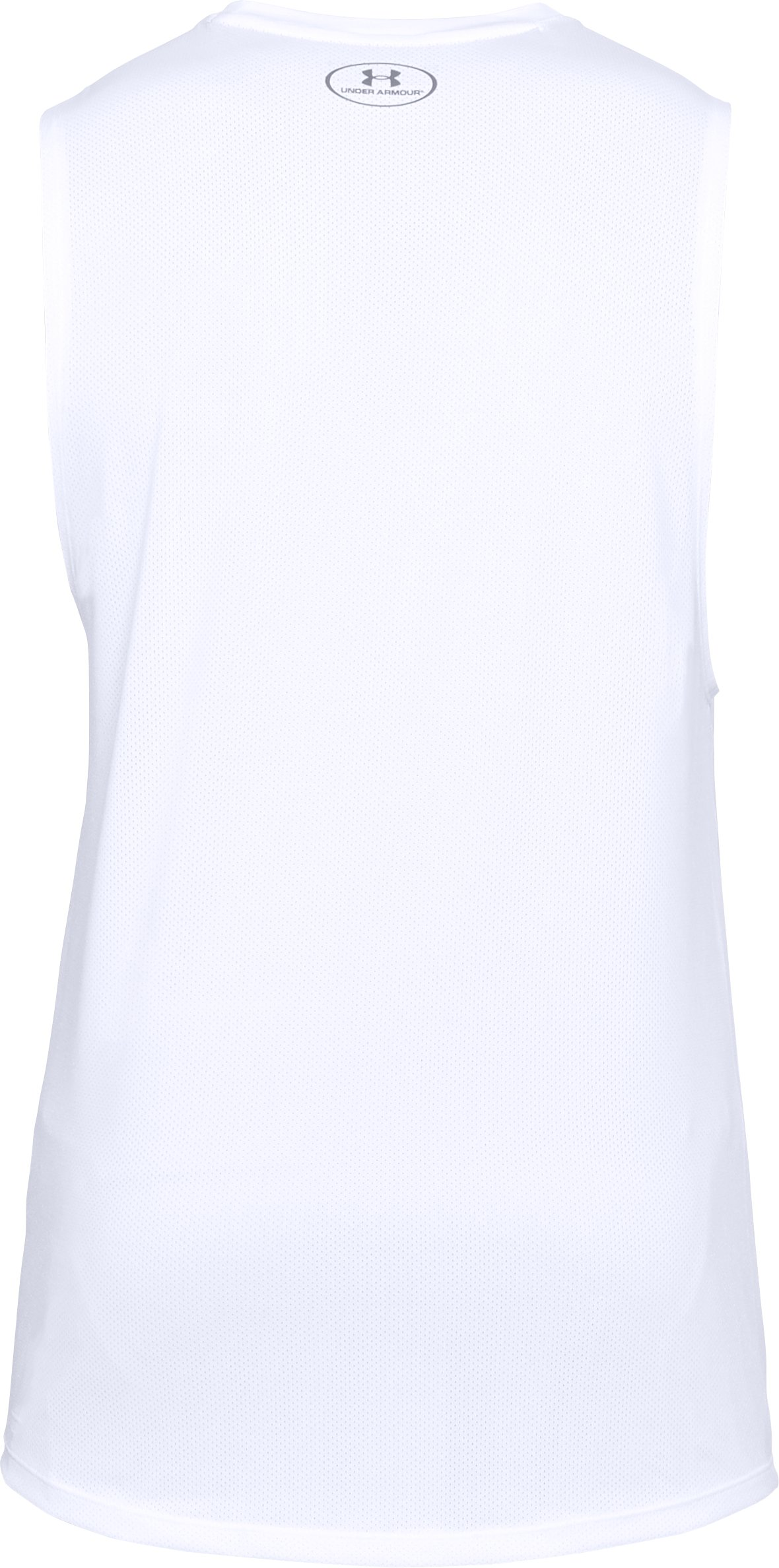 Men's UA MK-1 Sleeveless, White,