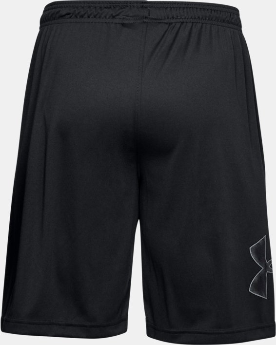 Pantalón corto con estampado UA Tech™ para hombre, Black, pdpMainDesktop image number 7