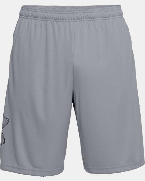 Men's UA Tech™ Graphic Shorts, Gray, pdpMainDesktop image number 3