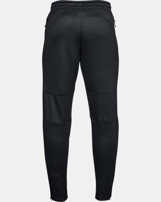 Men's UA MK-1 Terry Tapered Pants, Black, pdpMainDesktop image number 4