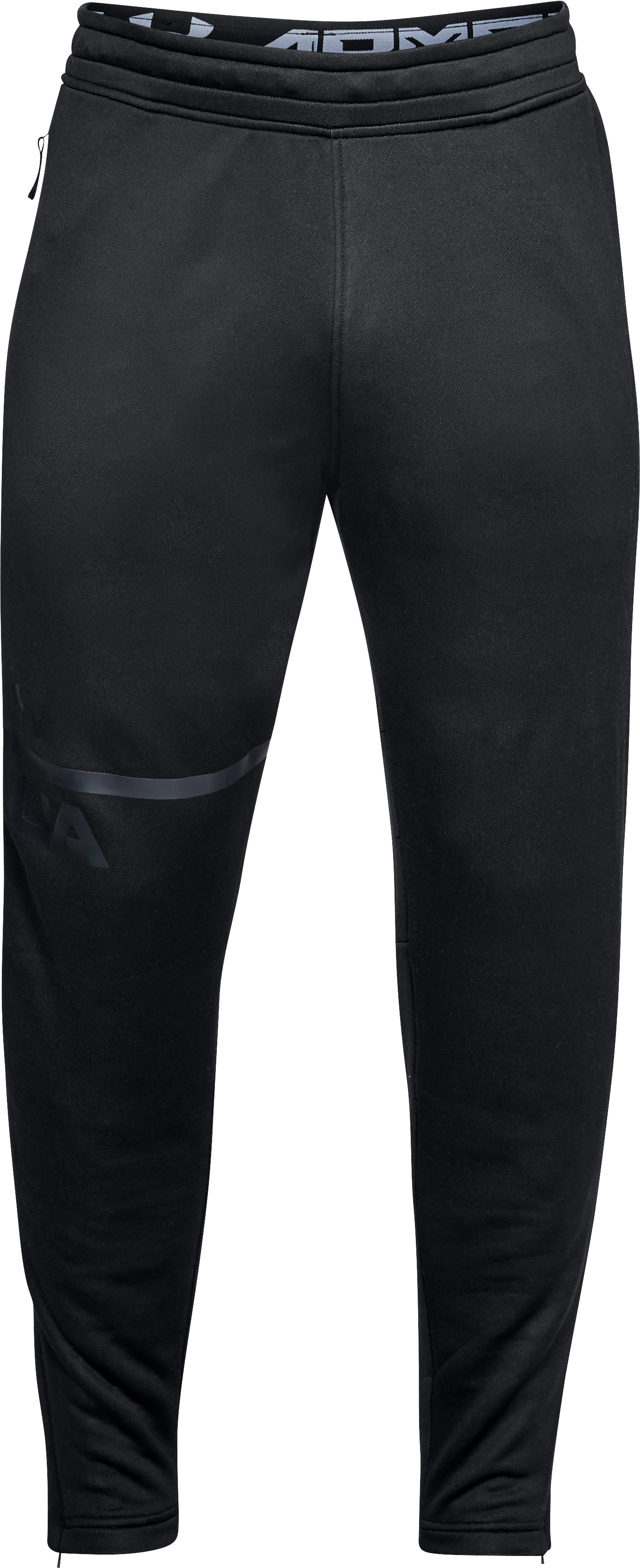 Men's UA MK-1 Terry Tapered Pants, Black ,