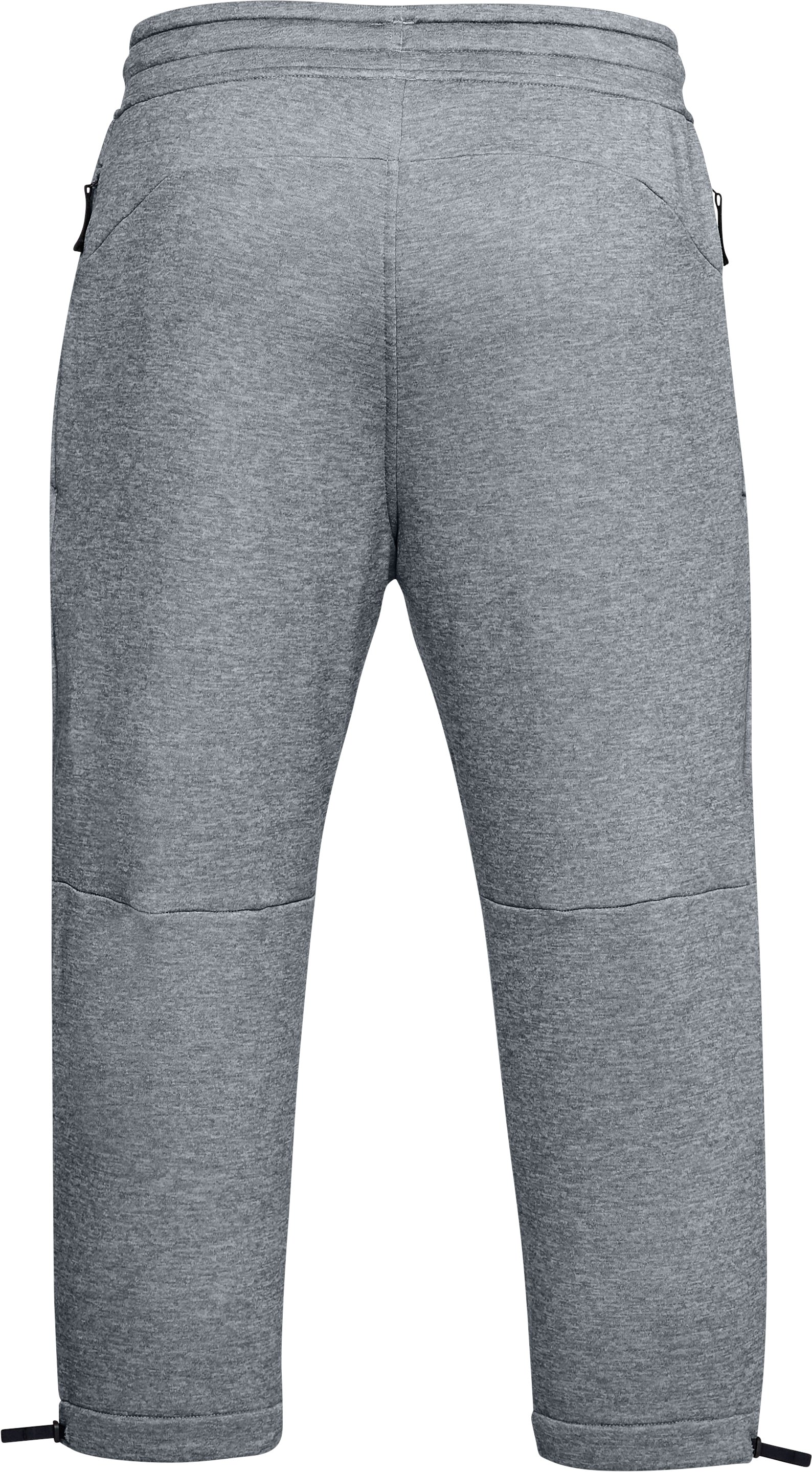 Men's UA MK-1 Terry ¾ Pants, Steel,