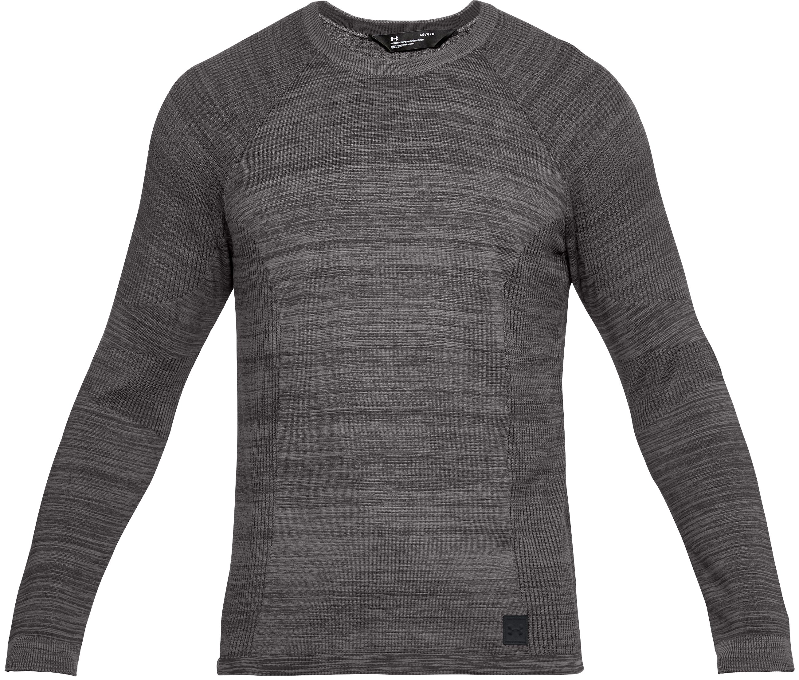 Men's UA Sportstyle Sweater, CHARCOAL MEDIUM HEATHER, undefined