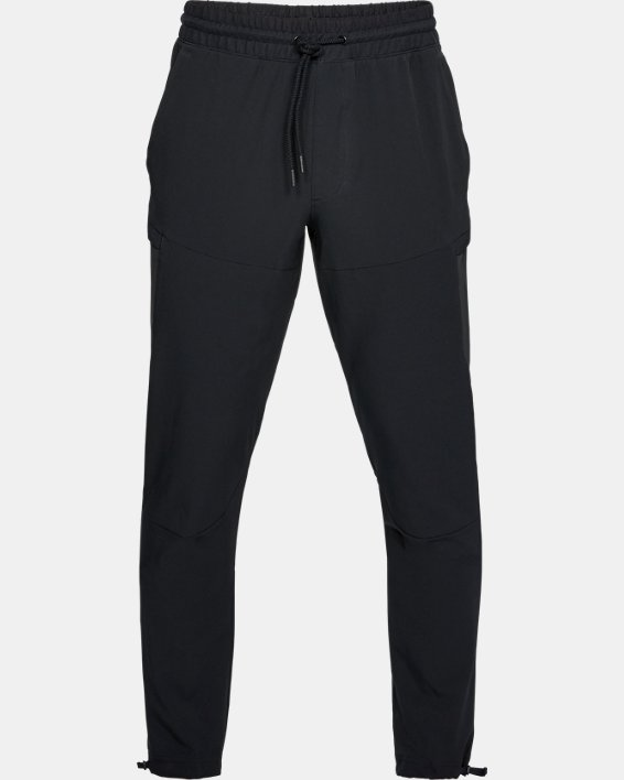 Men's UA Sportstyle Elite Cargo Pants, Black, pdpMainDesktop image number 4