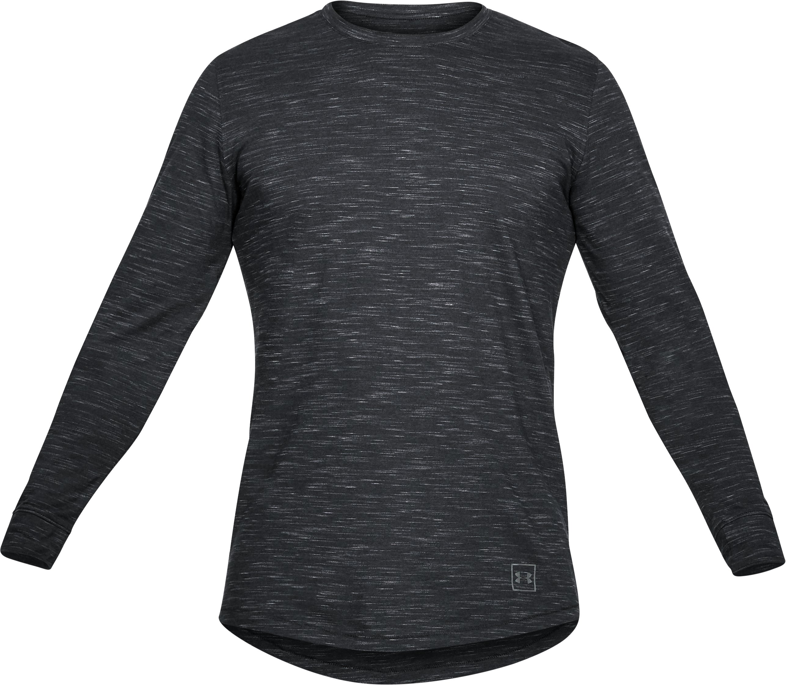 Men's UA Sportstyle Long Sleeve, Black ,