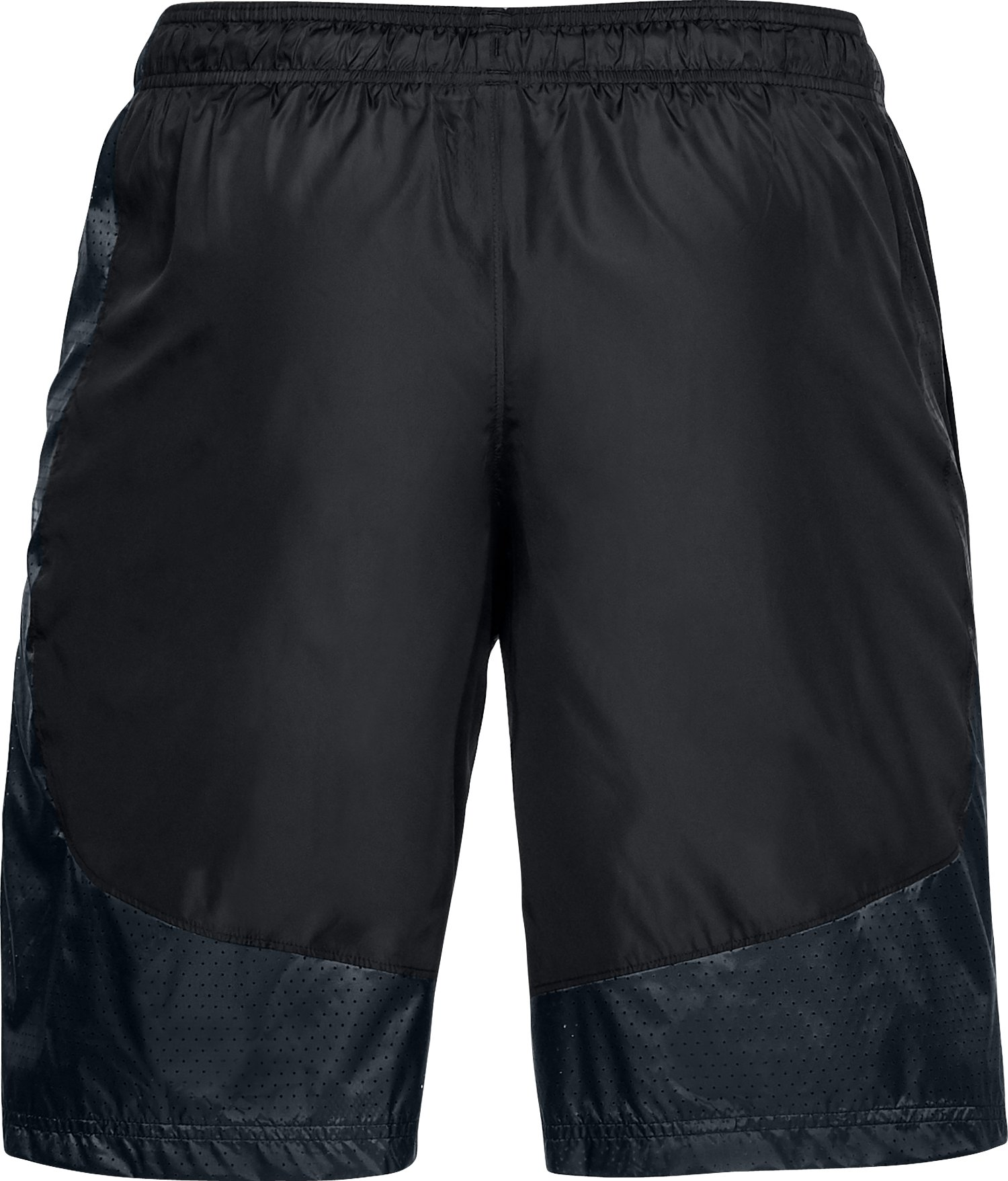 Men's UA Sportstyle Wind Shorts, Black ,