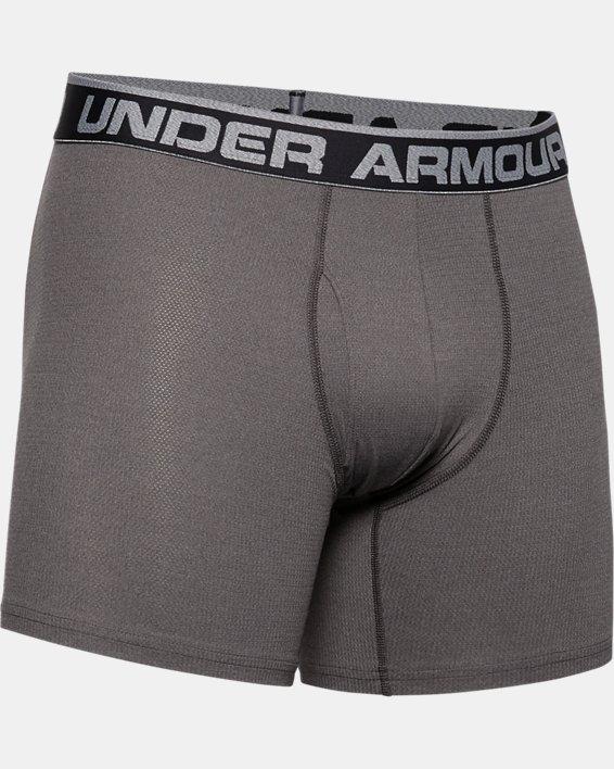 "Men's UA Tech™ Mesh 6"" Boxerjock® - 2-Pack, Gray, pdpMainDesktop image number 2"