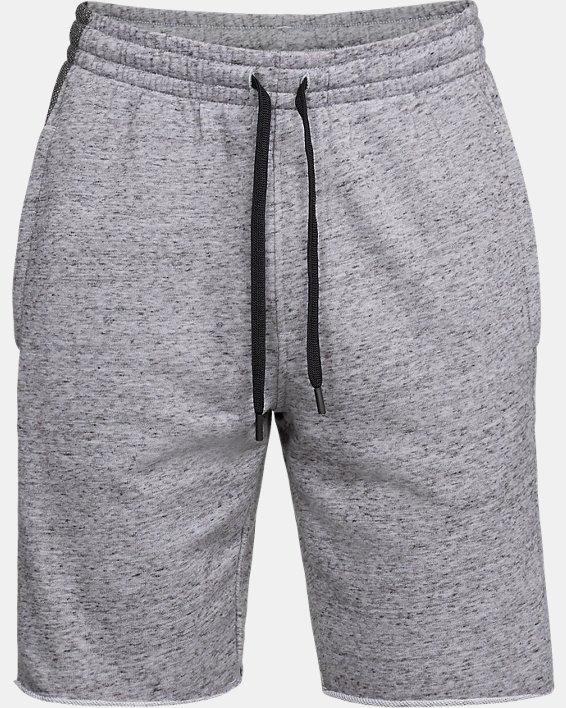 Men's UA EZ Knit Shorts, Gray, pdpMainDesktop image number 3