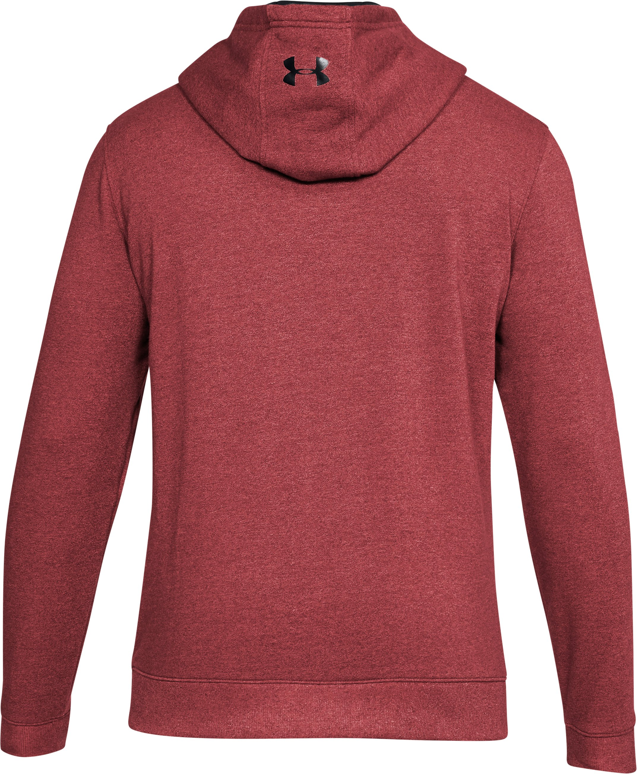 Men's UA Threadborne™ Fleece Hoodie, Red,