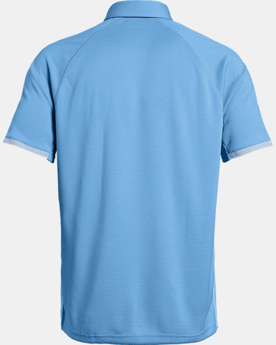 Men's UA Rival Polo, Blue, pdpMainDesktop image number 5