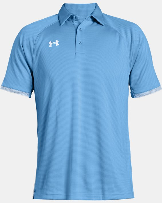 Men's UA Rival Polo, Blue, pdpMainDesktop image number 4