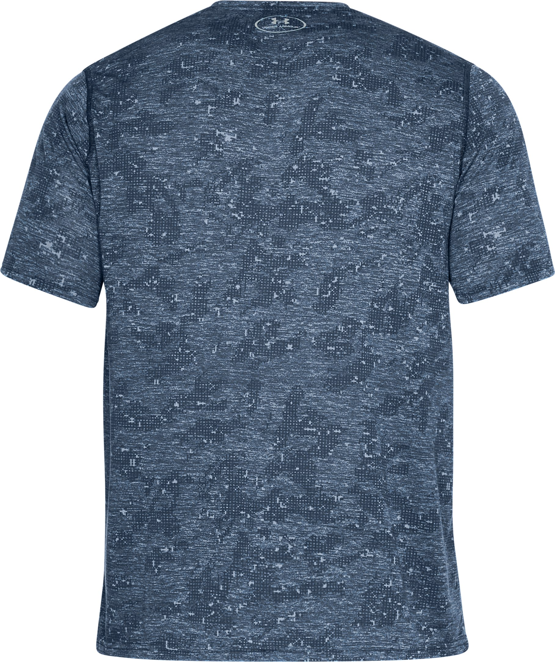 Men's UA Siro Printed V-Neck T-Shirt, Academy, undefined