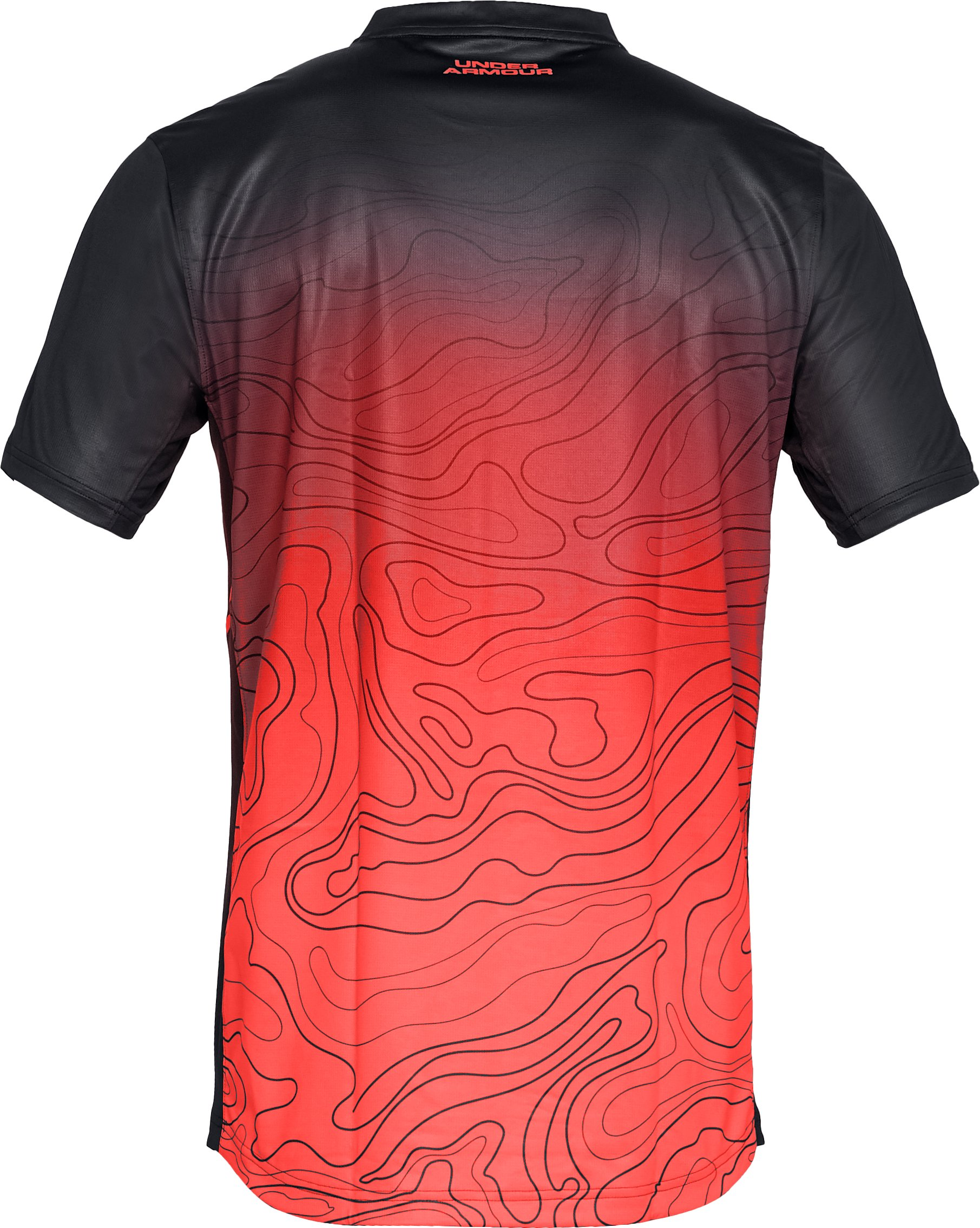 Men's UA Forge Short Sleeve, Black ,