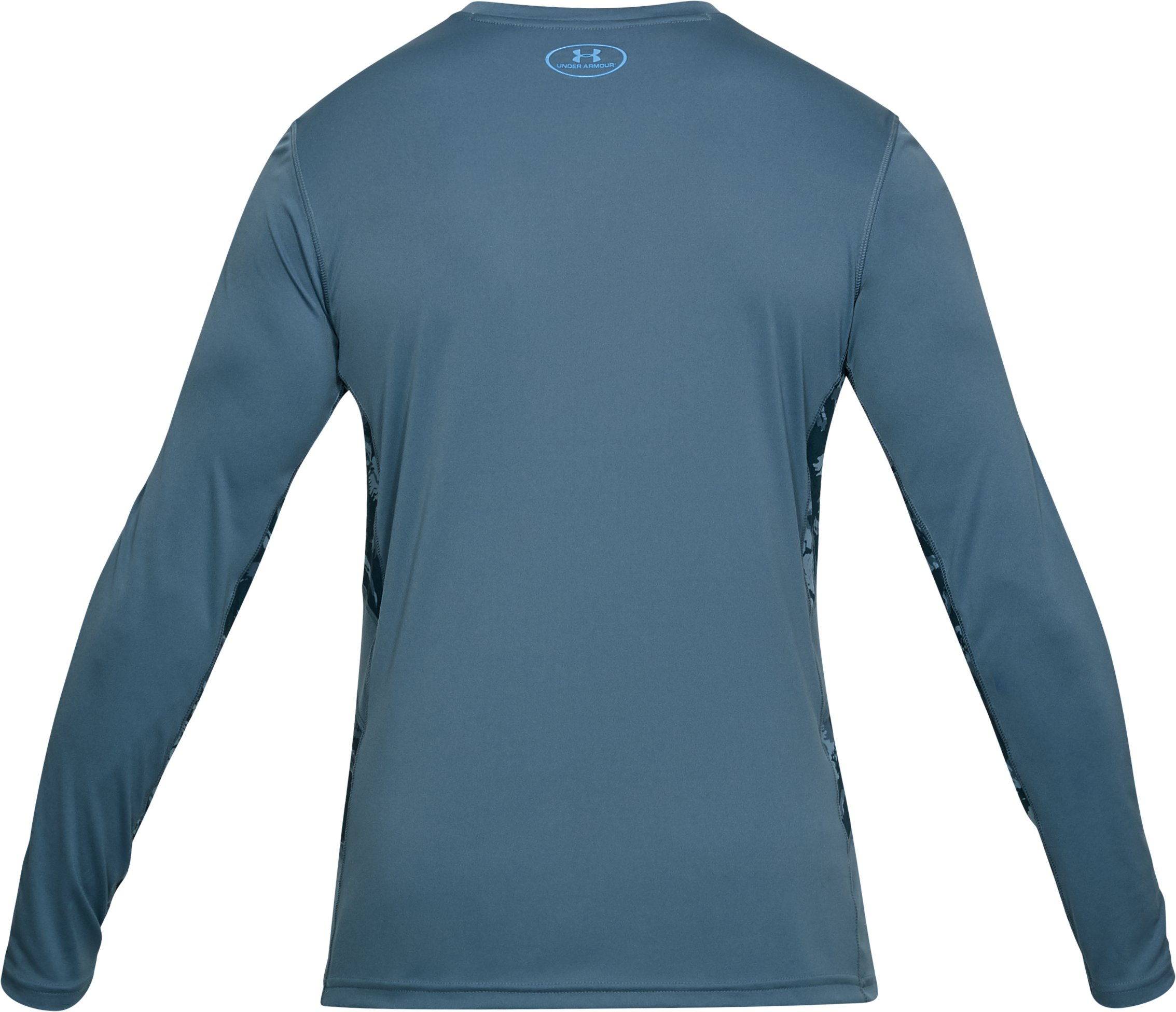 Men's UA Fish Hunter Tech Long Sleeve, BASS BLUE,