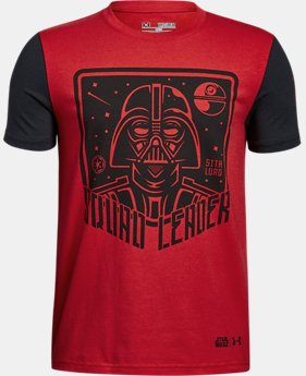 New Arrival Boys' Star Wars UA Squad Leader T-Shirt   $24.99