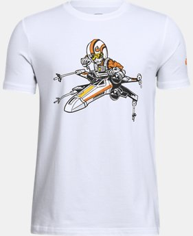 Boys' Star Wars UA XWing Pilot T-Shirt FREE U.S. SHIPPING 1  Color Available $29.99