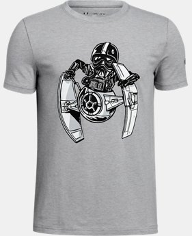 New Arrival  Boys' Star Wars UA Tie Pilot T-Shirt  1 Color $34.99