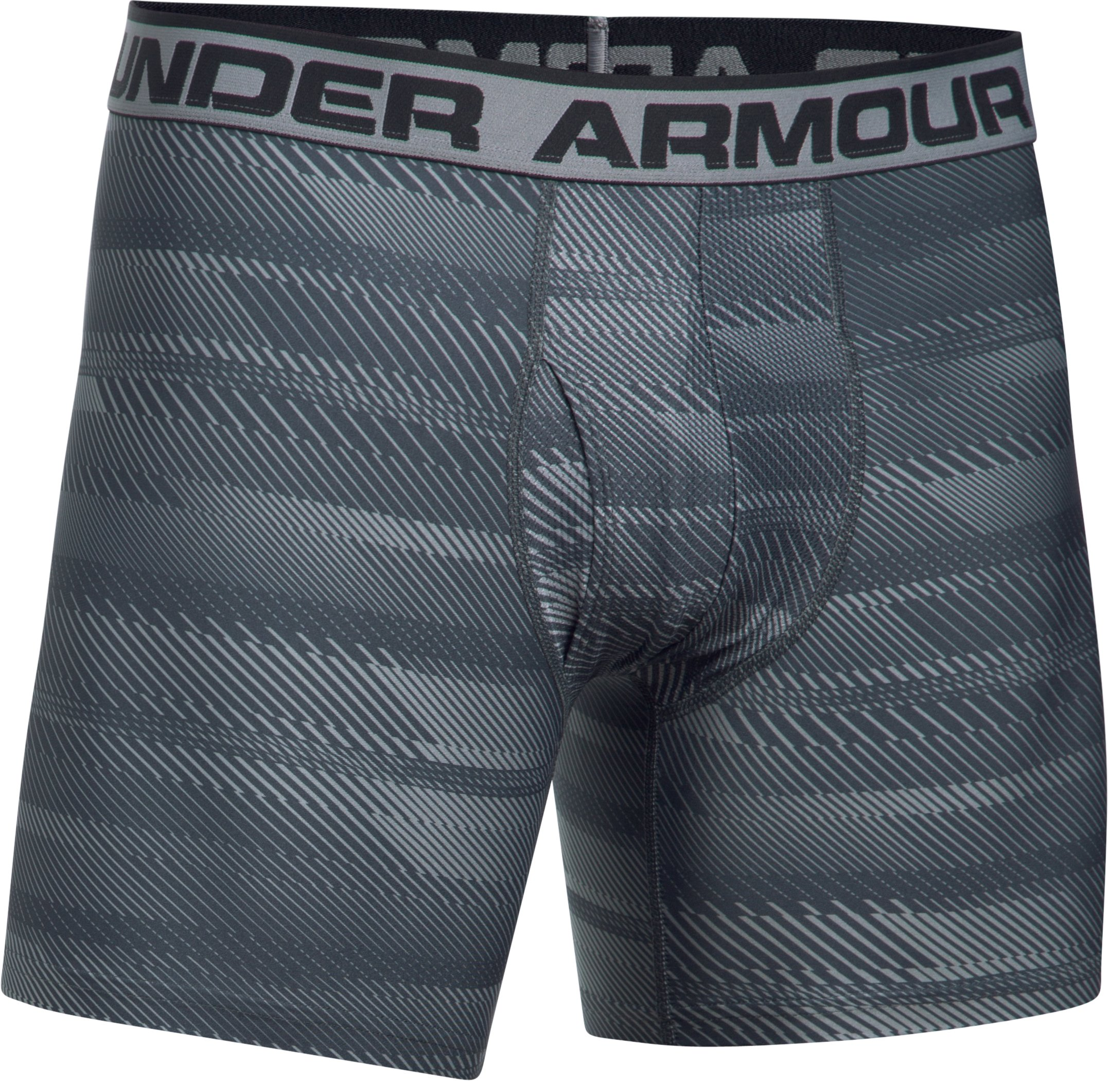 Men's UA Original Series Printed Boxerjock®, Steel,