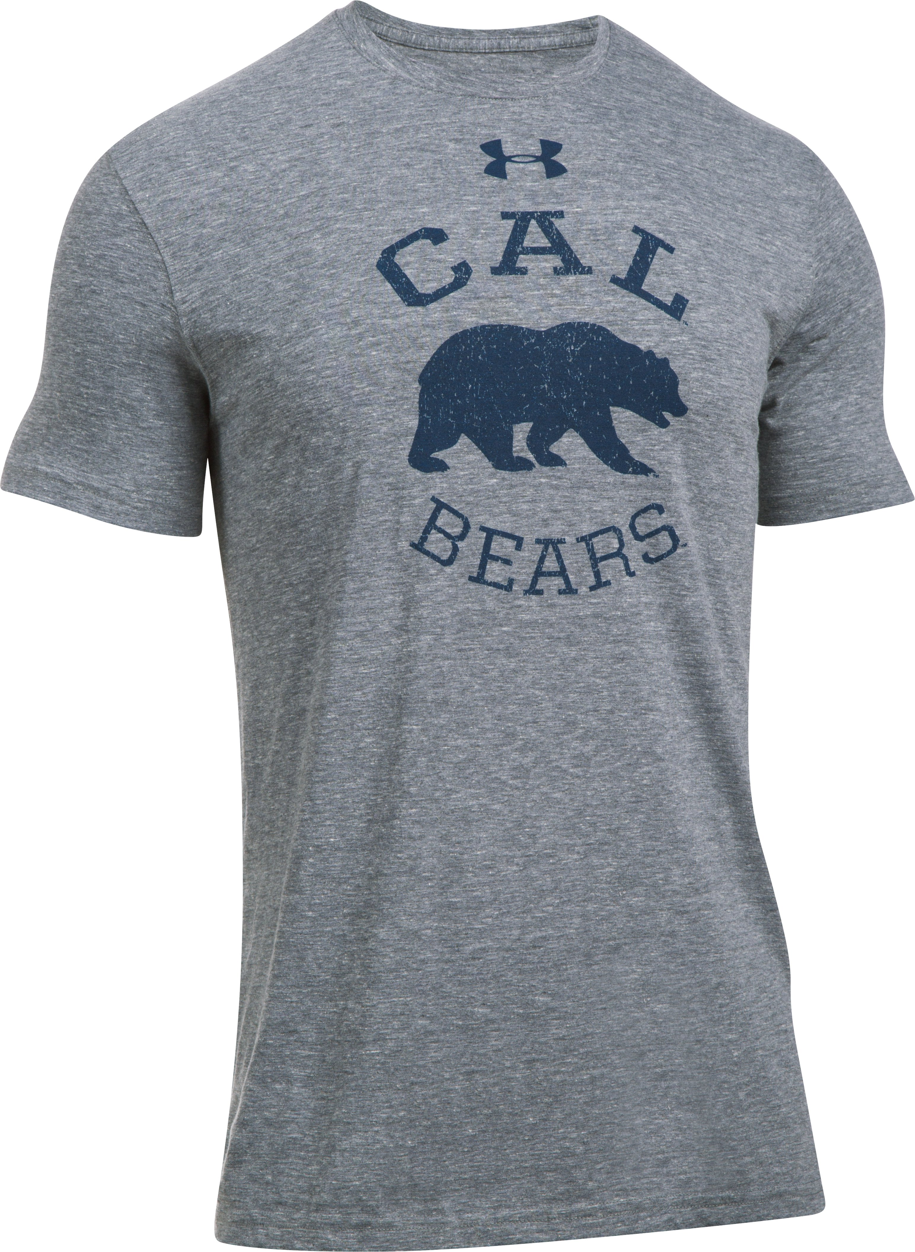 Men's Cal Bears Tri-Blend T-Shirt, True Gray Heather,