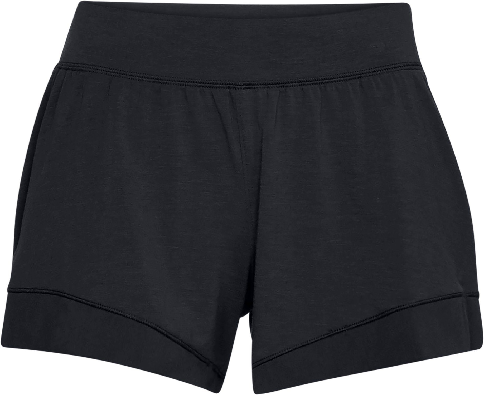 Women's Athlete Recovery Sleepwear Boxer Shorts, Black ,