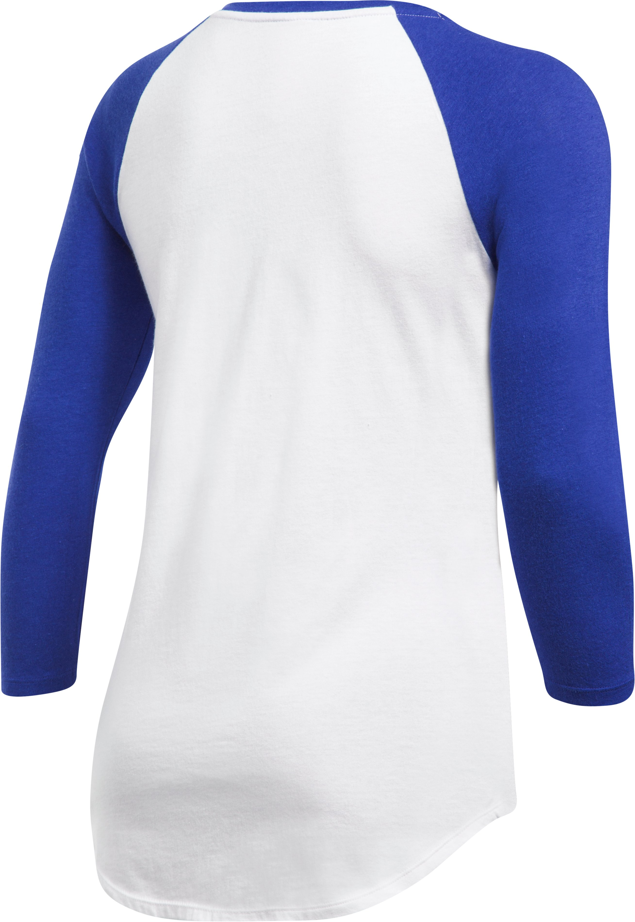 Women's Chicago Cubs ¾ Sleeve T-Shirt, Royal,