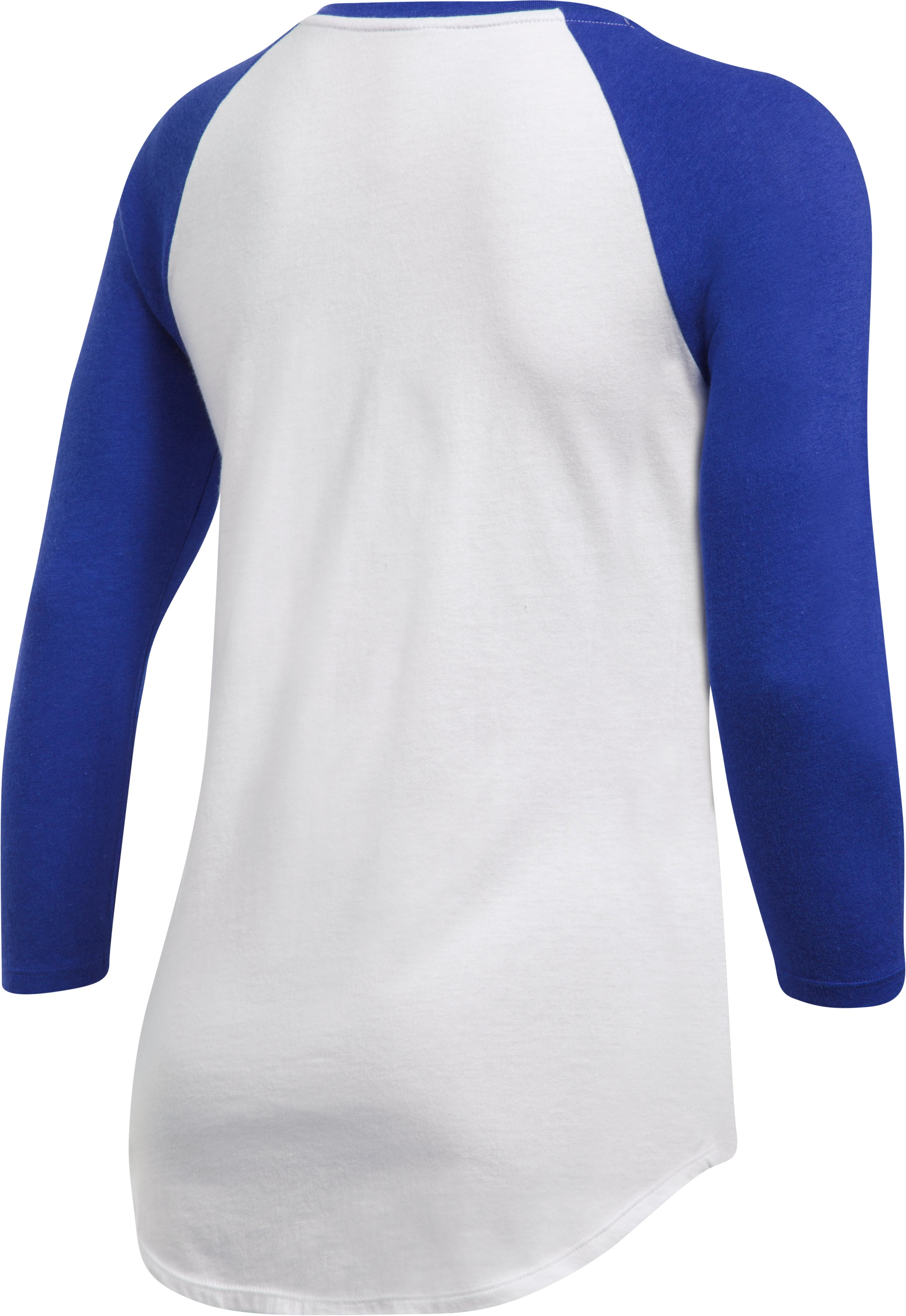 Women's Texas Rangers ¾ Sleeve T-Shirt, Royal, undefined