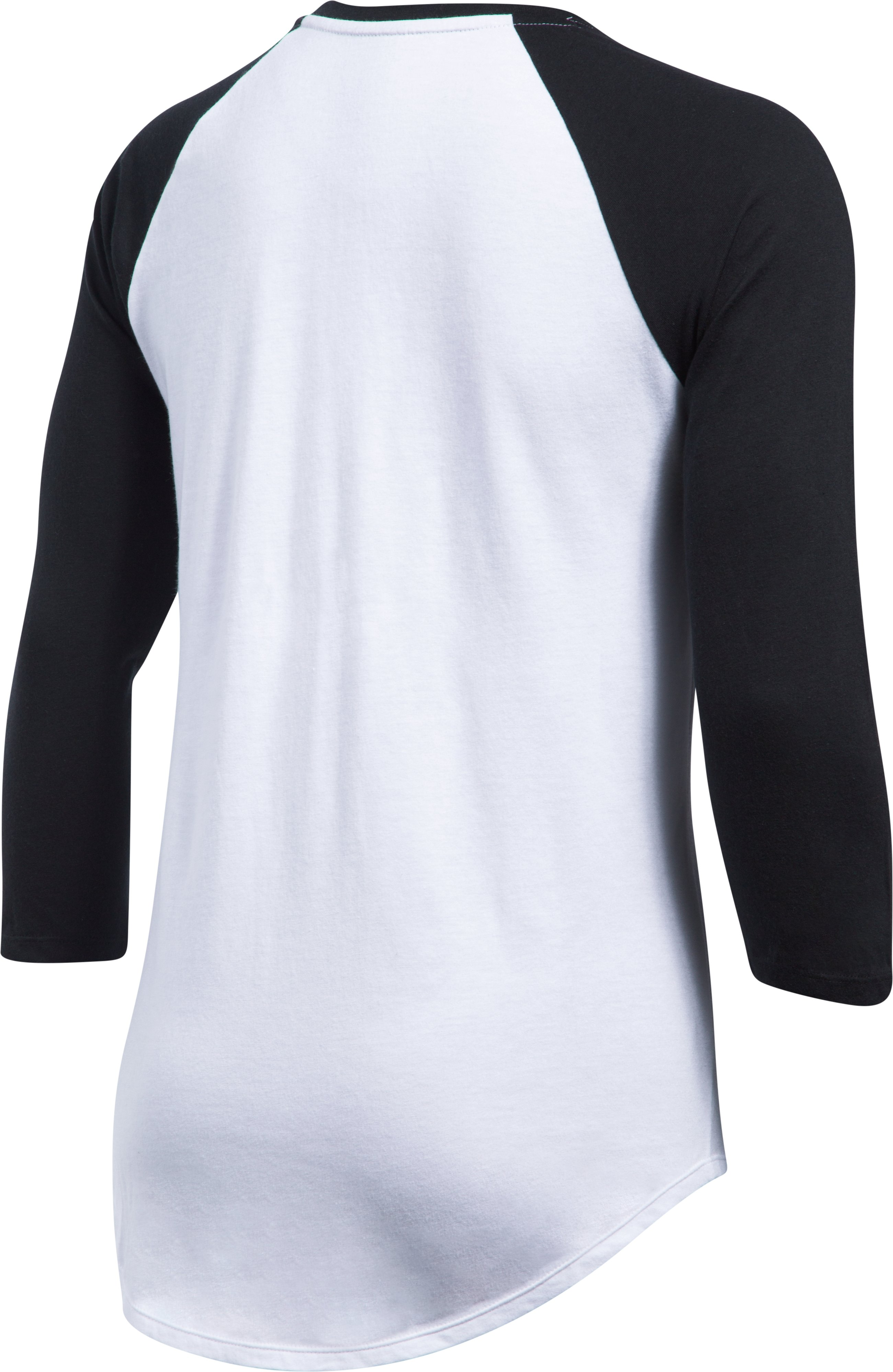 Women's Chicago White Sox ¾ Sleeve T-Shirt, Black , undefined