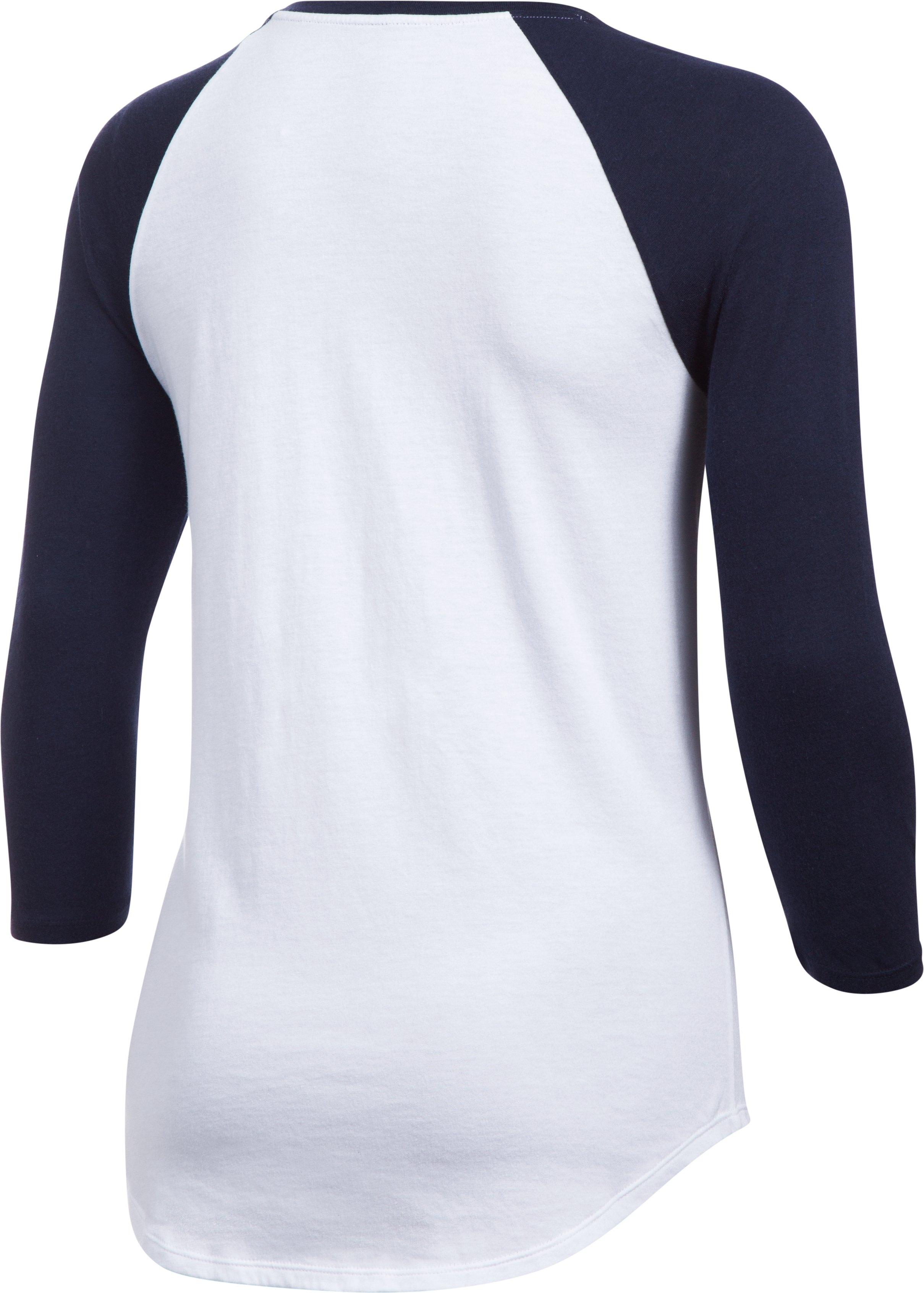 Women's Milwaukee Brewers ¾ Sleeve T-Shirt, Midnight Navy,