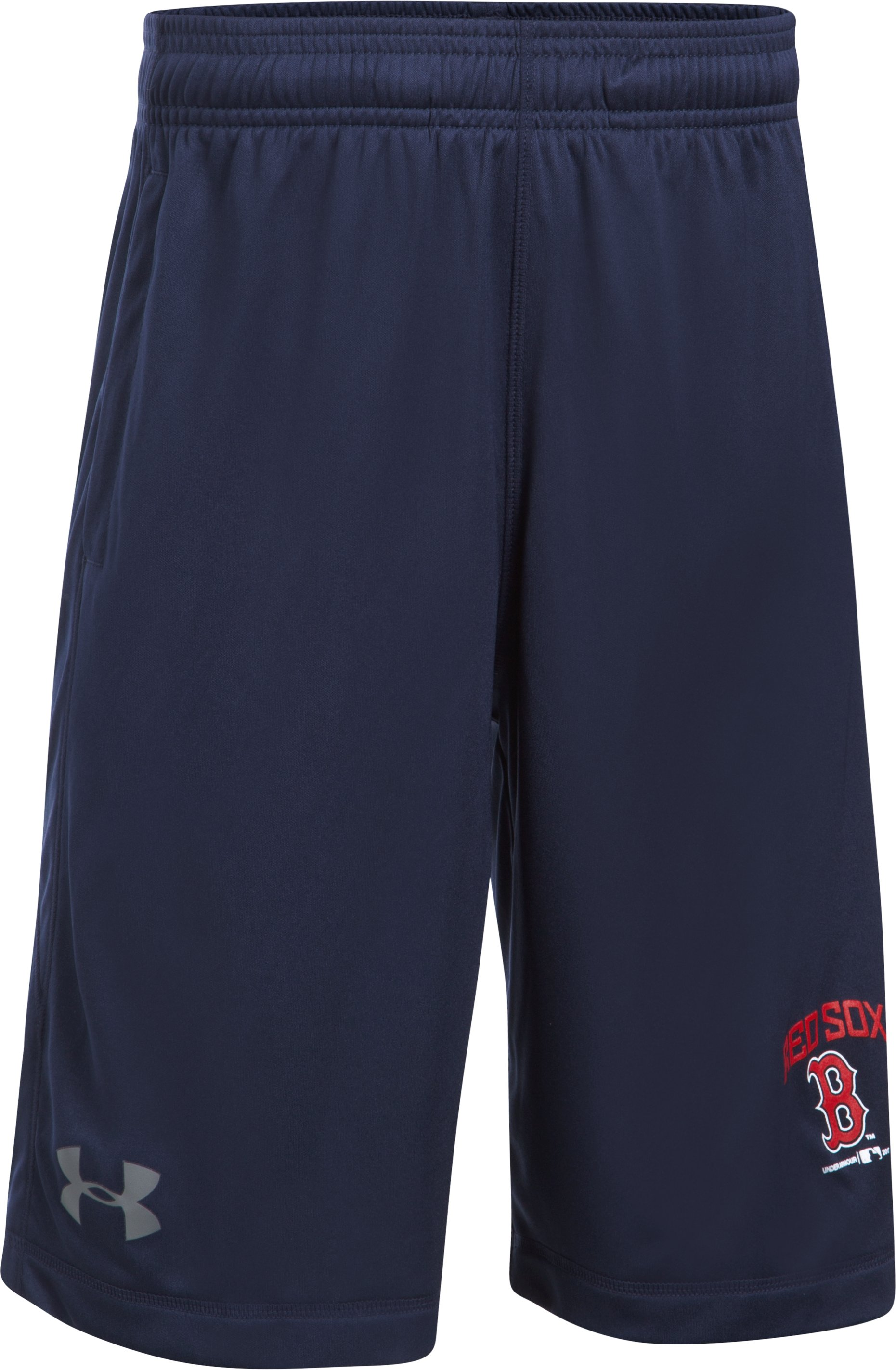 Boys' Boston Red Sox Training Shorts, Midnight Navy
