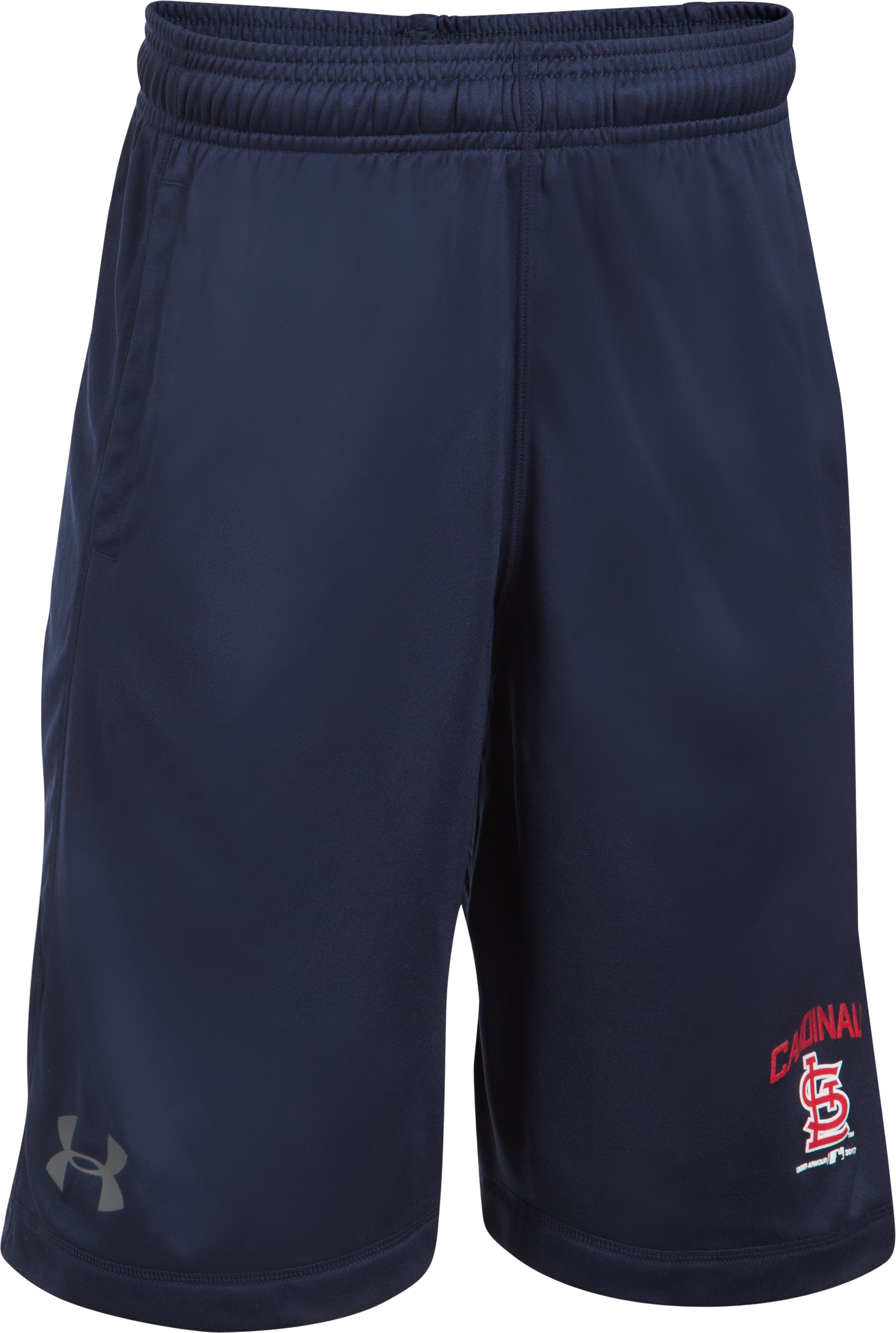 Boys' St. Louis Cardinals Training Shorts, Midnight Navy, undefined