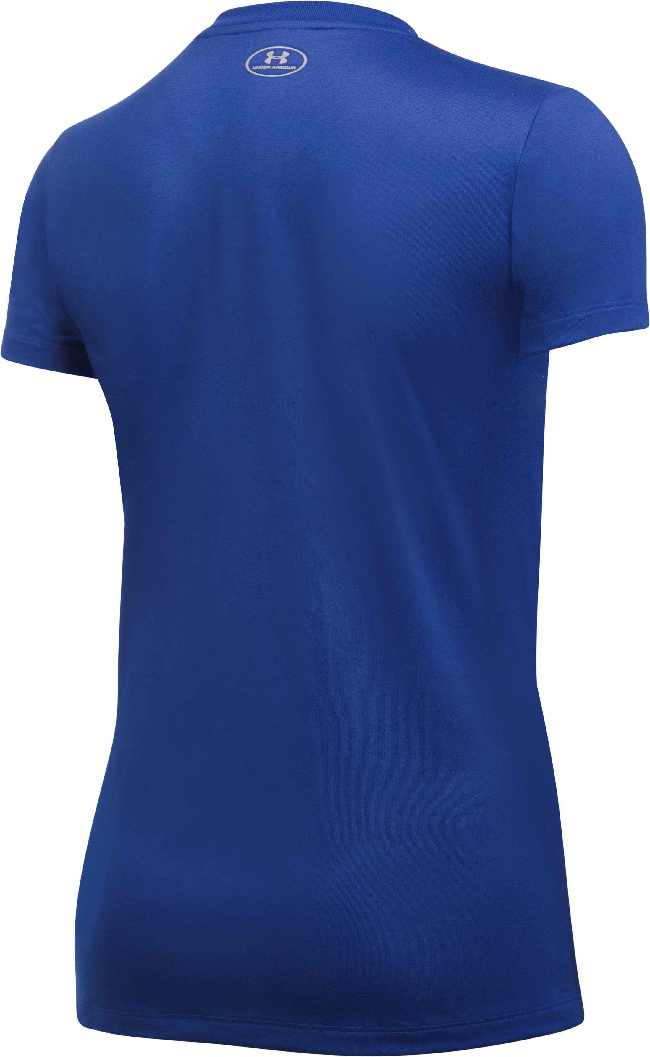 Women's Toronto Blue Jays UA Tech™ V-Neck T-Shirt, Royal, undefined