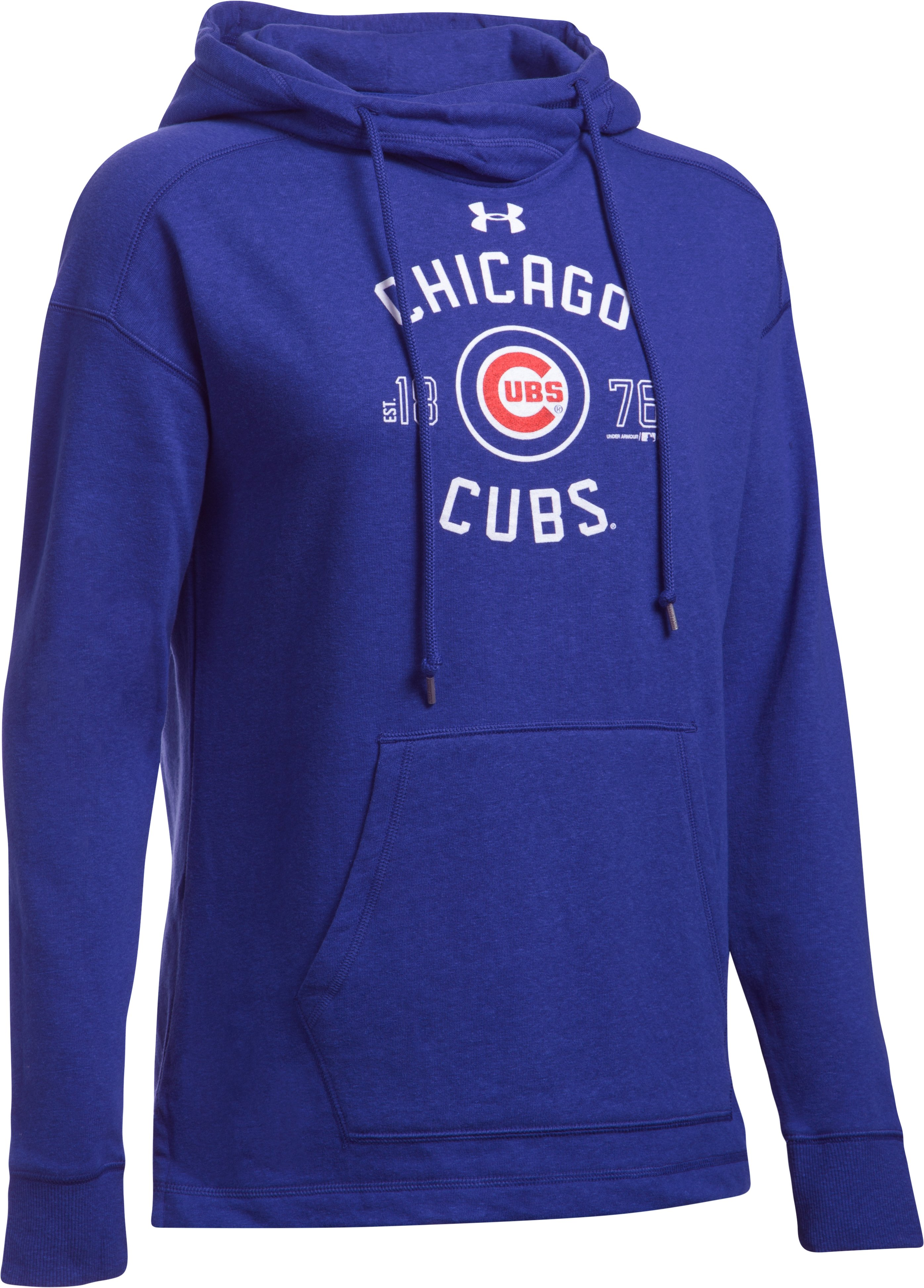 Women's Chicago Cubs Armour® Fleece Hoodie, Royal