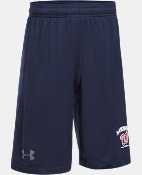 Boys' Washington Nationals Training Shorts  1 Color $29.99