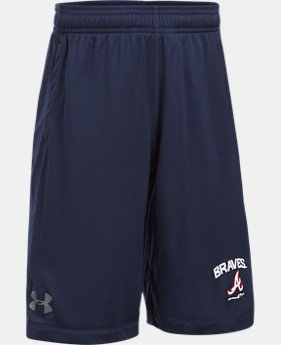 Boys' Atlanta Braves Training Shorts  1  Color $29.99