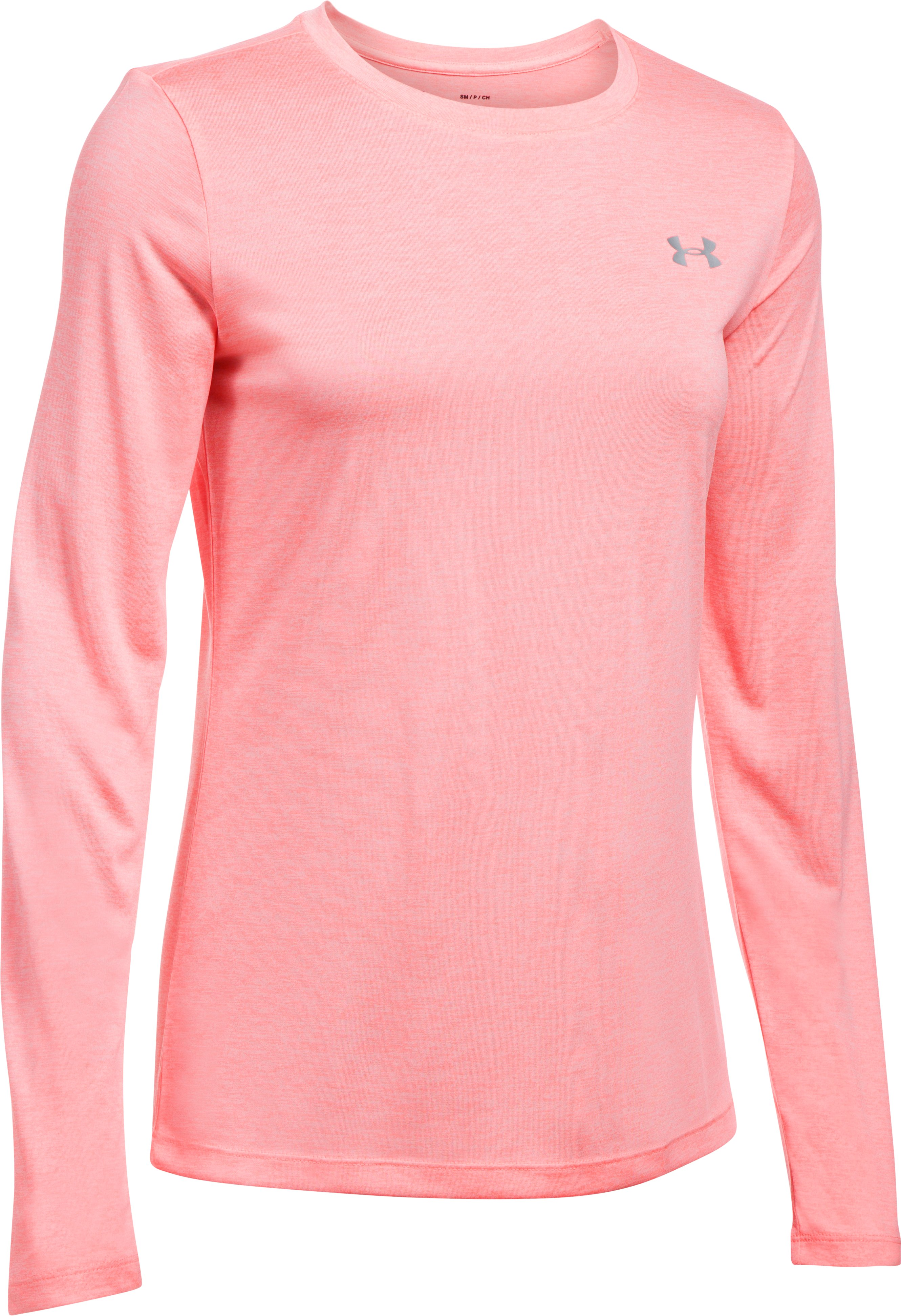 Women's UA Tech™ Twist Crew Long Sleeve, CAPE CORAL, undefined