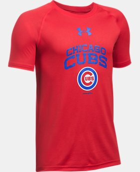 Boys' Chicago Cubs UA Tech™ T-Shirt  1 Color $24.99