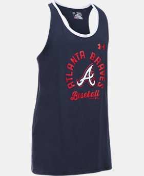 Girls' Atlanta Braves Ringer Tank  1  Color Available $24.99