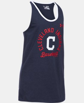Girls' Cleveland Indians Ringer Tank  1 Color $24.99
