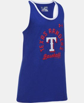 Girls' Texas Rangers Ringer Tank LIMITED TIME: FREE U.S. SHIPPING 1  Color Available $24.99
