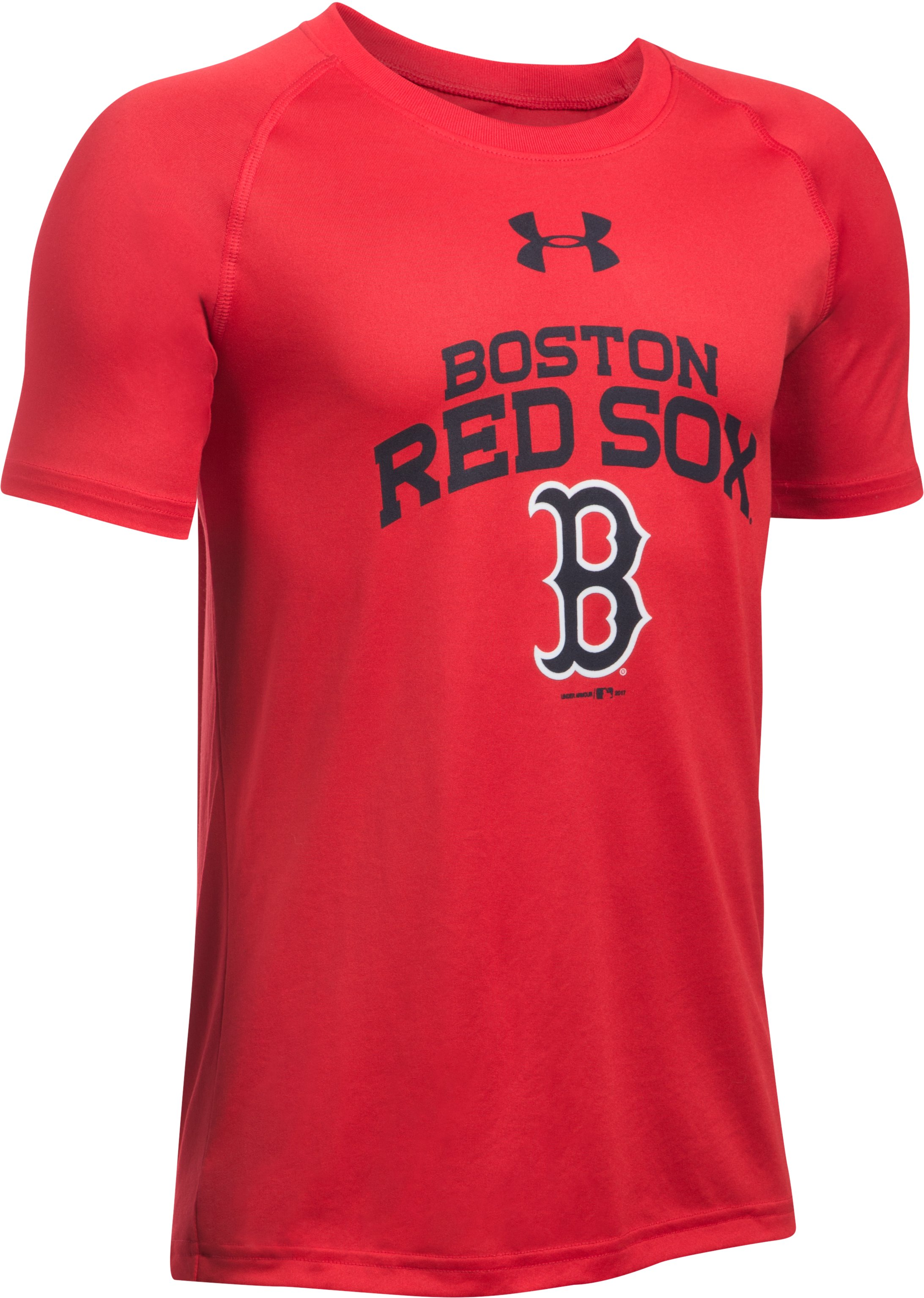 Boys' Boston Red Sox UA Tech™ T-Shirt, Red, undefined