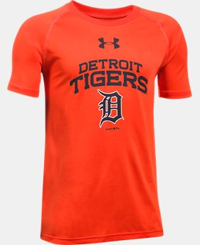 Boys' Detroit Tigers UA Tech™ T-Shirt  1 Color $29.99