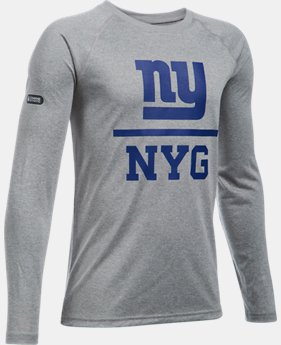Boys' NFL Combine Authentic Team Lockup Long Sleeve  20 Colors $33