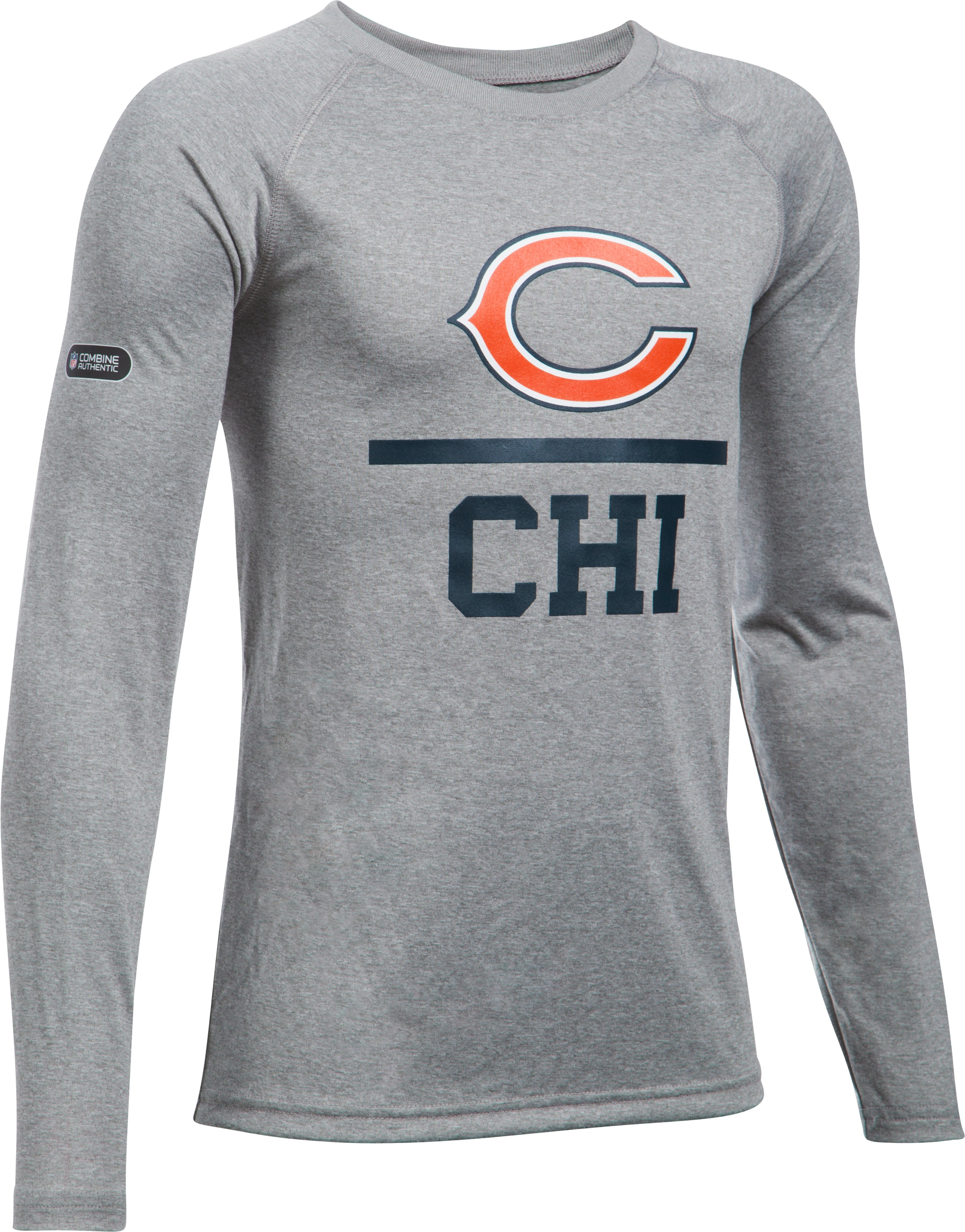 Boys' NFL Combine Authentic Team Lockup Long Sleeve, Chicago Bears