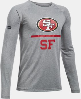 New to Outlet Boys' NFL Combine Authentic Team Lockup Long Sleeve  1  Color Available $24.75