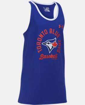 Girls' Toronto Blue Jays Ringer Tank  1 Color $29.99
