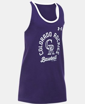 Girls' Colorado Rockies Ringer Tank  1 Color $18.99