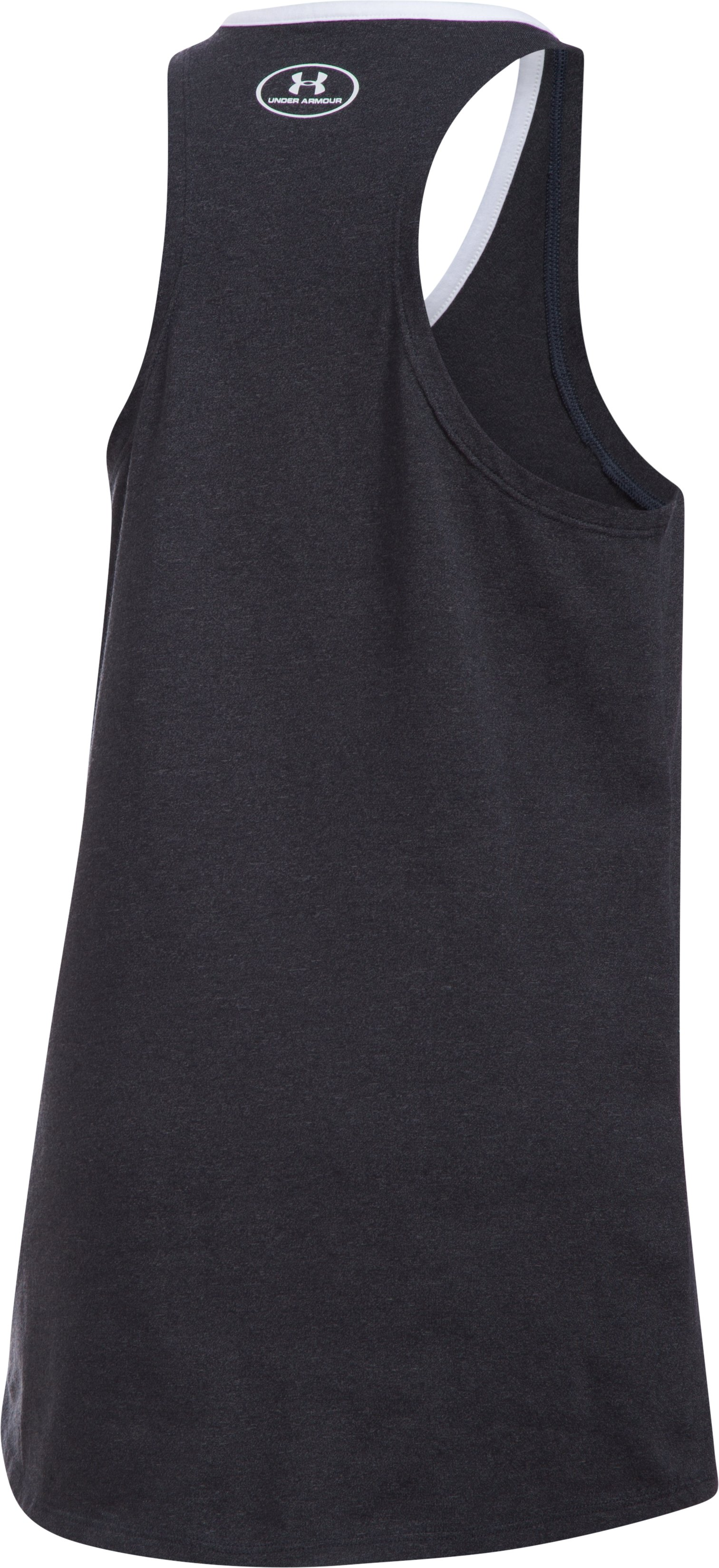 Girls' Arizona Diamondbacks Ringer Tank, Black , undefined