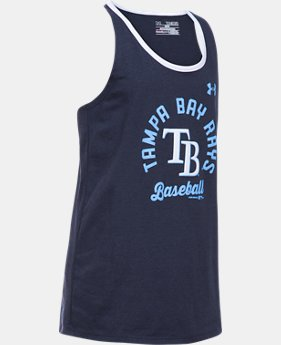 Girls' Tampa Bay Rays Ringer Tank  1  Color Available $24.99